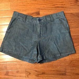 BCG Woman's Denim Shorts Sz 6 Cotton Blue